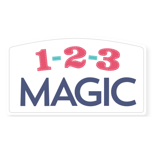 1-2-3 Magic Logo