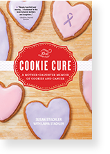 Cover image of The Cookie Cure by Susan Stachler and Laura Stachler