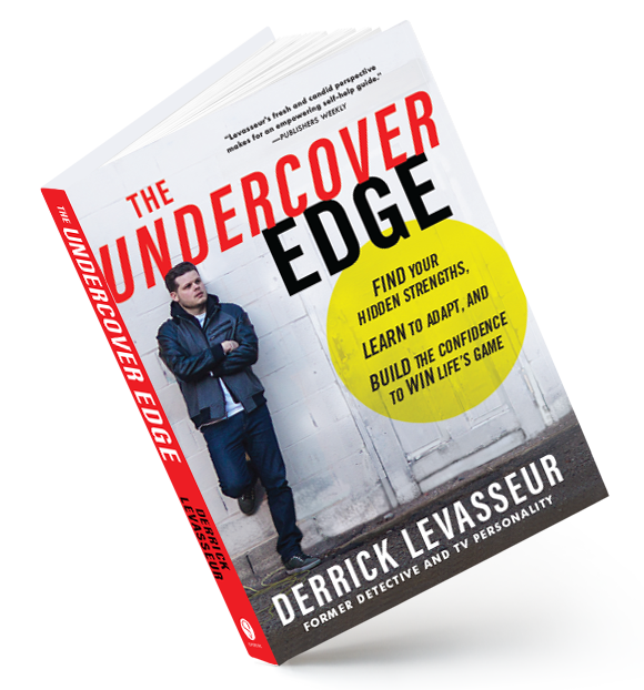 Cover image of The Undercover Edge by Derrick Levasseur